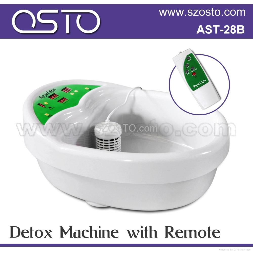 Detoxing machine with remote 1