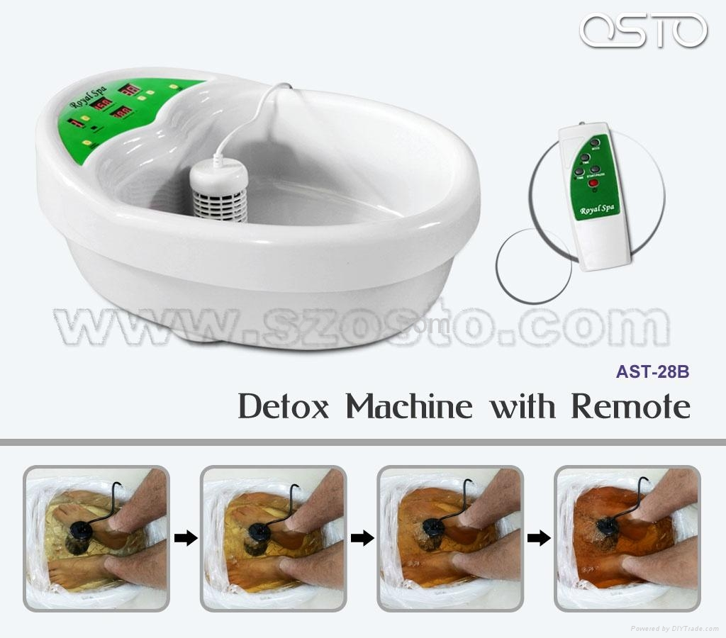 Detoxing machine with remote 2