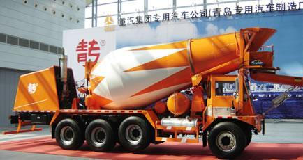 Sinotruk Howo Front Discharge Concrete Truck China