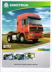 sinotruk howo tractor 4x2