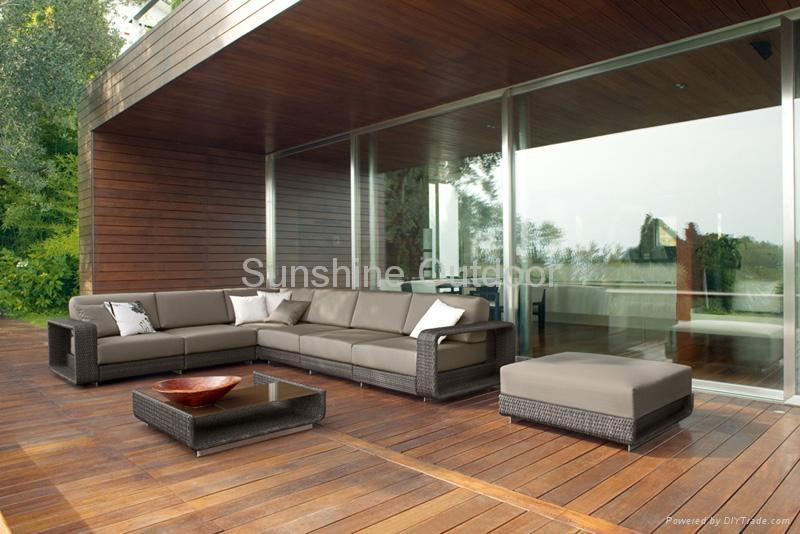 Outdoor Rattan Furniture Luxury Design 2011 Fco 092 Sunshine China Manufacturer Outdoor