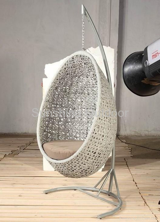 Rattan hanging chair - 2011 gold model - fco-016 - Sunshine (China Manufacturer) - Outdoor ...