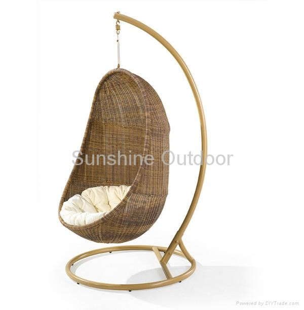 ... Rattan Hanging Chair   2011 Gold Model 2 ...