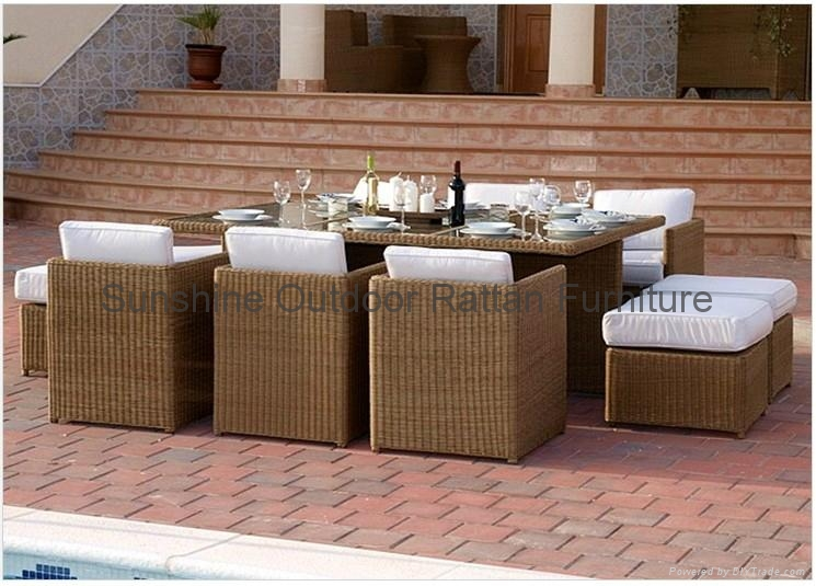 Luxury banquet dining set for 12p - 2012 outdoor/open air ...