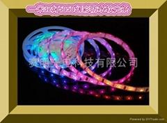 LED幻彩跑馬燈軟光條