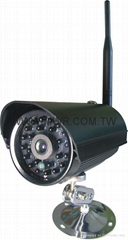2.4G wireless ip camera-outdoor WIFI IP CAMERA