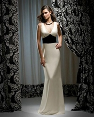 2012 new style  noble cream bridesmaid/party/social dresse