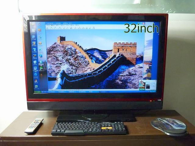 Made In China All In One Pc Tv 32 Inch Lcd Screen Pc