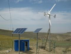 低風速起動小型風力發電機 1kW