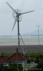 低風速起動-小型風力發電機 10kW