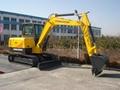 Hongda small scale excavator