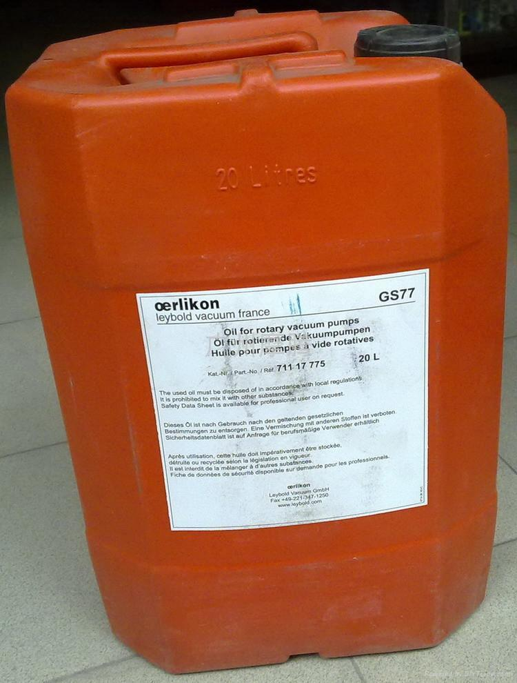 德國LEYBOLD萊寶真空泵原裝進口專用油 1