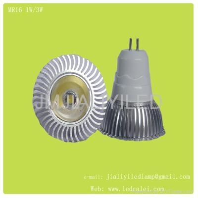 MR16 3W led 射灯 1