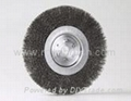 wheel brush steel wire 8-inch
