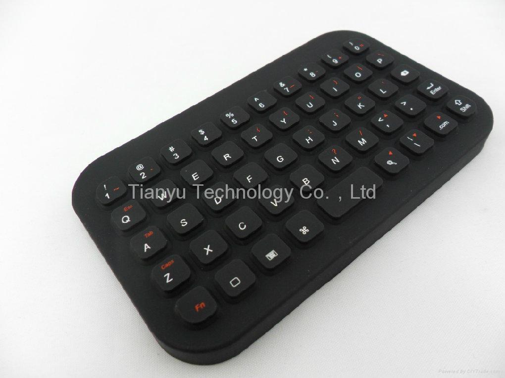 49键硬手掌型蓝牙硅胶键盘BRK3100BT 1