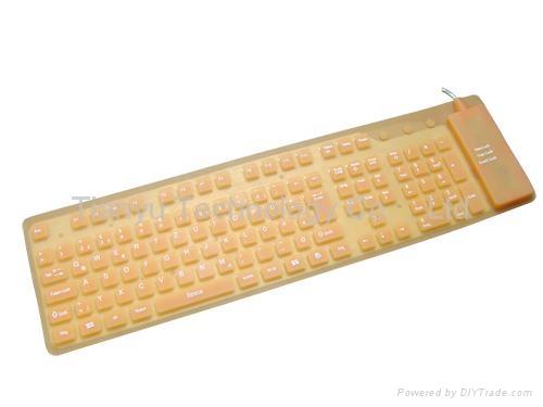109键USB电脑键盘 2