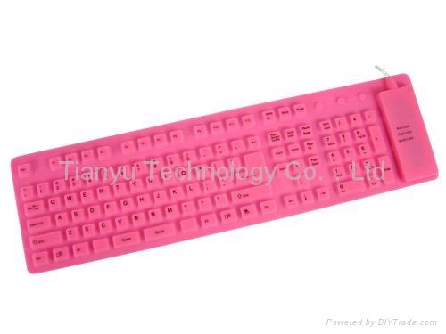 109键USB电脑键盘 3