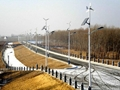 Wind solar hybrid street light