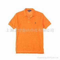 上海文化衫数码印花加工