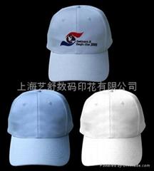 上海棒球帽数码印花