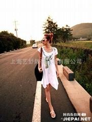 上海印花裙数码印花