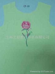 Polyester fabric printing