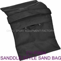 film vedio camera firm saddle sand bag 10kgs with double zipper double wings