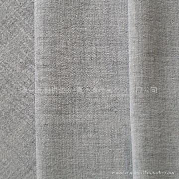 polyester.rayon 2way stretch plain fabric 1