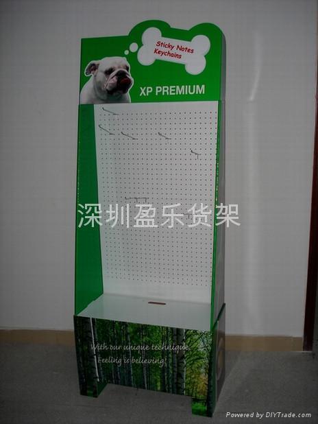 工業用品促銷紙貨架 3