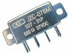 JZC-078M SUBMINIATURE MEDIUM POWER HERMETICALLY SEALED DC ELECTROMAGNETIC RELAY
