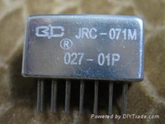 JRC-071M SUBMINIATURE LOW POWER HERMETICALLY SEALED DC ELECTROMAGNETIC RELAY