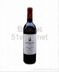 馬球王子赤霞珠梅洛干紅葡萄酒2004
