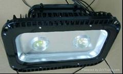 100W LED雙光源投光燈