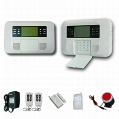 Wireless GSM & PSTN  Alarm System for home security burglar alarm gsm system