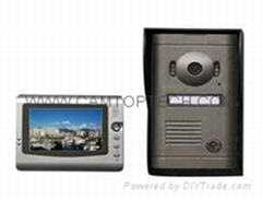"Vandalproof Color Video Villa Doorphone 7"" TFT Monitor"