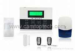 Wireless Anti-Burglary Alarm System with Remote Control