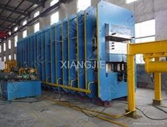 Conveyer Belt Vulcanizing Press