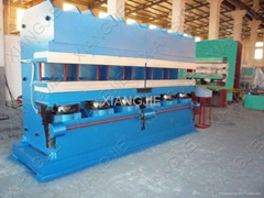 plate vulcanizing machine (jaw
