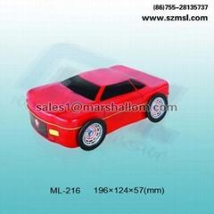 car shaped tin box