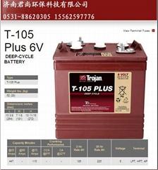 TROJAN蓄电池T105电瓶