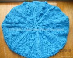 羊绒针织帽子