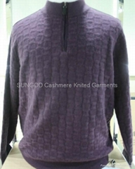 Man's cashmere pullover