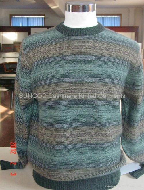 Man's cashmere pullover 2