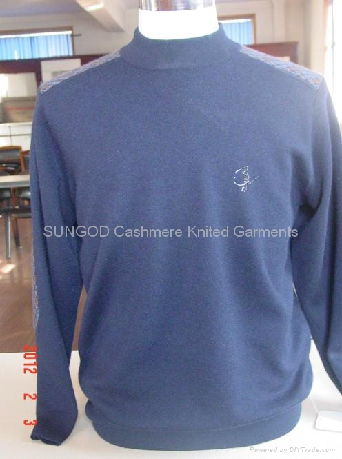 Man's cashmere pullover 3