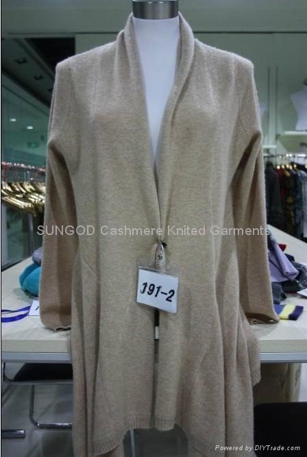 Women's cashmere cardigan jumper 3