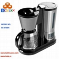 Coffee maker with water dispenser