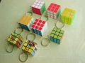 Magical cube keychin