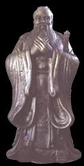 人物铜雕,名人铜雕,孔子雕塑