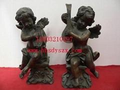 儿童雕塑,儿童铜雕,人物铜雕