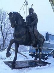 将军雕塑,人物雕塑,铜马雕塑